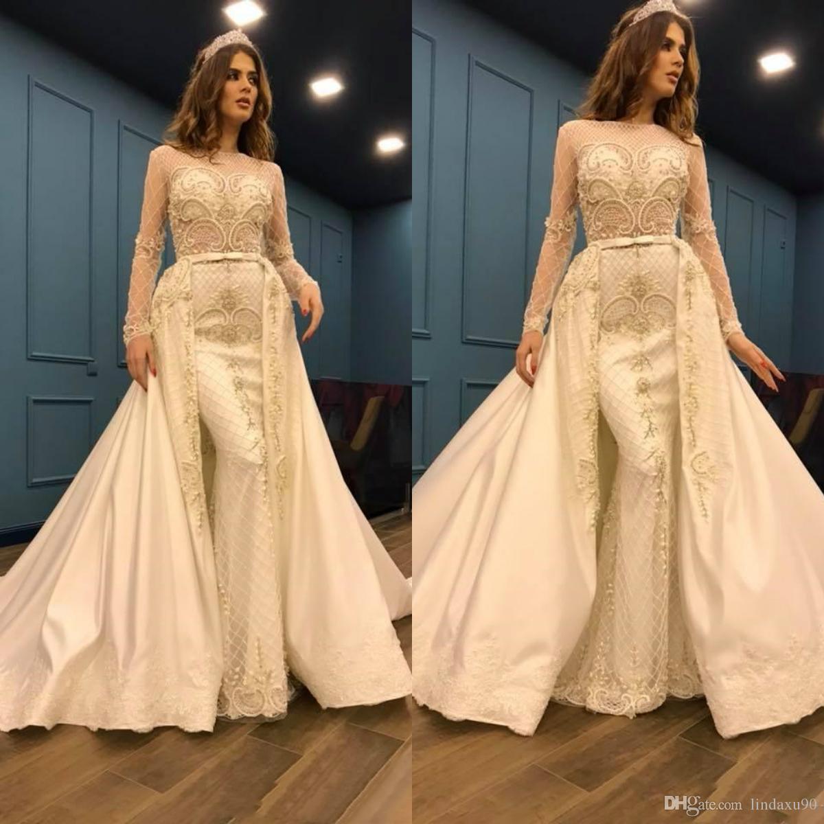 Роскошные платья выпускного вечера с бисером и жемчугом с длинными рукавами и африканским кружевом Вечернее платье Vestidos 2020 Party Pageant Платья