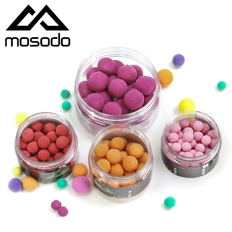 Pescando atrações Mosodo Carp Fishing Pop Ups Beads Flutuante Pop-up Bead PVA Bola Boilies Lure Bait Iscas pop-up Lure colorido em