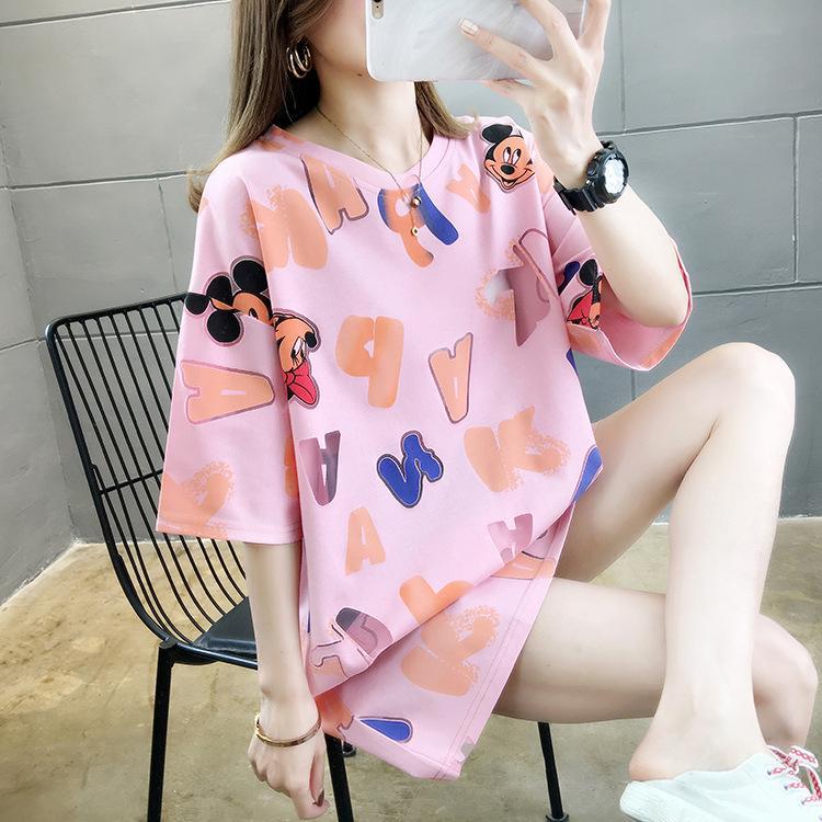 Le donne del progettista manica corta tee sottile maglietta rivestimento di modo sexy camicia respirabile comodo T-shirt di marca shirt stampata Tee Tops Very Hot