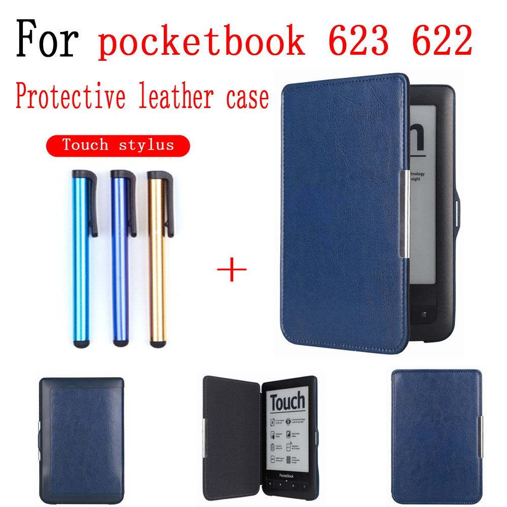 ablets e-Books Capa protetora capa para Pocketbook 623 622 Tablet Pocketbook eBook impermeável Caso antiderrapante tela de toque Shell pele s ...