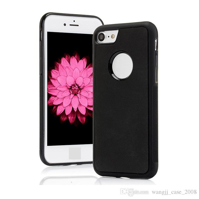 Telefone Capas Anti gravidade iPhone11 XR 7 8 mais para Samsung Antigravity TPU quadro mágico Nano sucção Tampa adsorvida caso 52