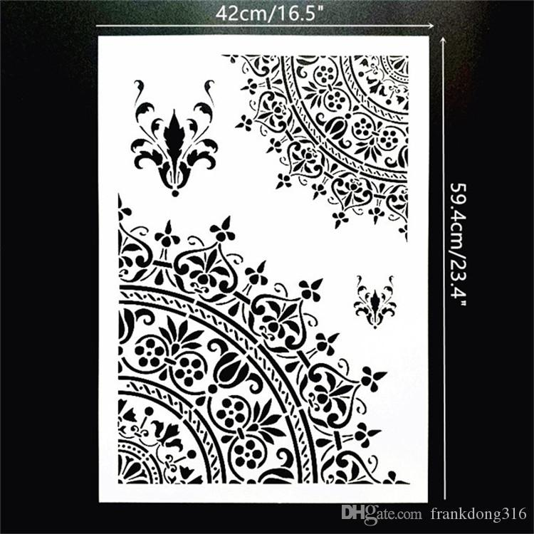 mandala heart stencil 1 craft,fabric,furniture,glass,wall art