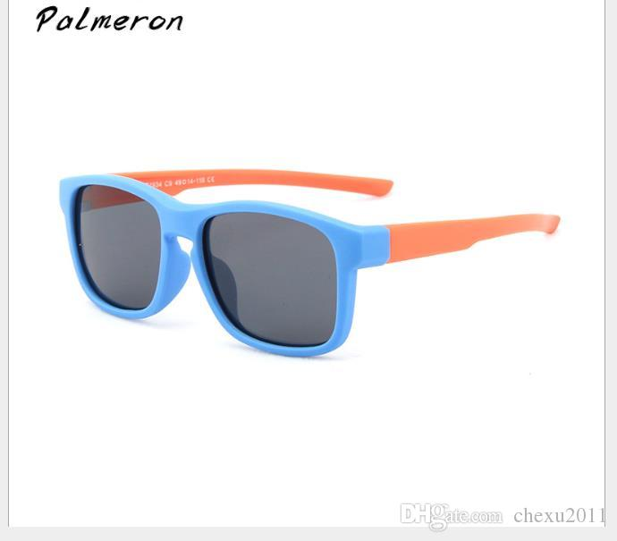 Sombrero de gafas de sol polarizadas de silicona para niños, para bebés y mujeres.