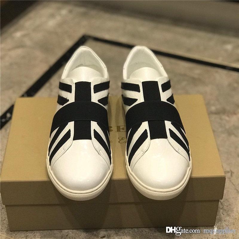 sapatos de grife de luxo do vintage 2019 sapatos mens sapatos de designer dourados sapatilhas do desenhista luxe B size38-44 couro pintura
