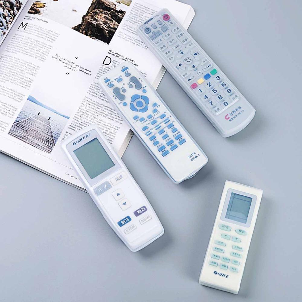 OTHERHOUSE 1Pc silicone TV Set-top Video Remote Case Cover Contrôle TV Box Air conditionné poussière Protect étanche
