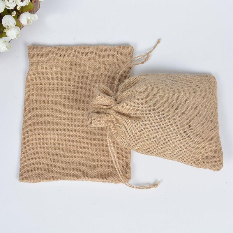 para cocina//cosecha Sacos de arpillera extra grandes de granja bolsa de arpillera S-35x50cm Paquete de 2 resistente a desgarros para almacenamiento bolsa de basura de jard/ín