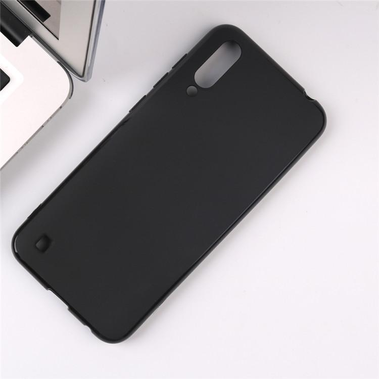 For ZTE Blade A7 2020 6.49inch Case Black Matte Soft TPU Case Drop-proof Cover For ZTE Blade A7 2020