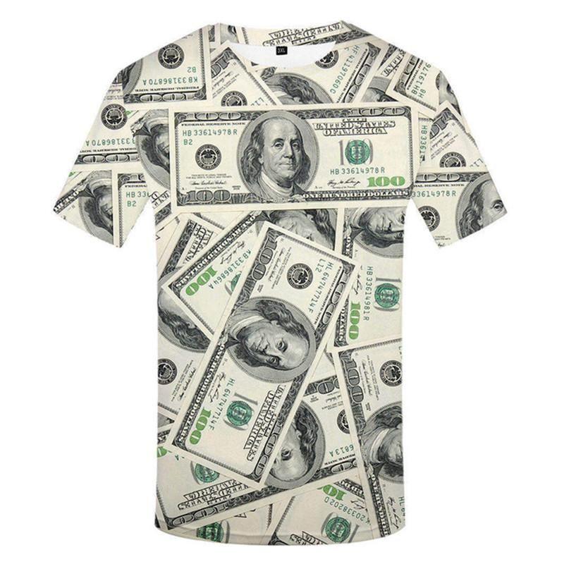 Marken-T-Shirt Männer-T-Shirt Anime Chinese 3D-Druck T -Shirt Hip Hop T-Shirt Cool Herrenmode neue Sommer-Top Größe S-4XL