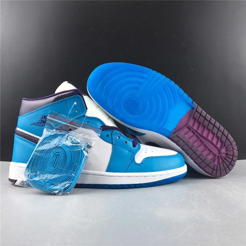 Charlotte Wasp 1 Basketball Shoes 1s High Og New Blue Purple Unique Running Designers Mens Women Sports Chaussure 36-45