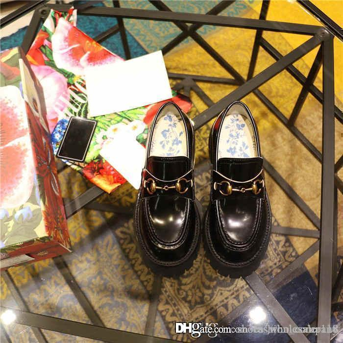 Klassisch Frauen Leder Loafers Pantoletten Capsule Collection, Neueste Jaune Mule Female Wohnung Pantoffeln mit Leder Loafer, Passende Verpackung