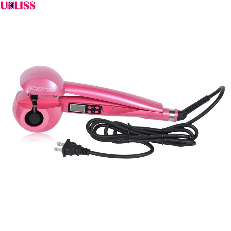 Pro LCD Salon Automatic Hair Curling Curler Ceramic Roller Wave Machine Styler Iron Auto hair curler Hot Sale Hair Curler