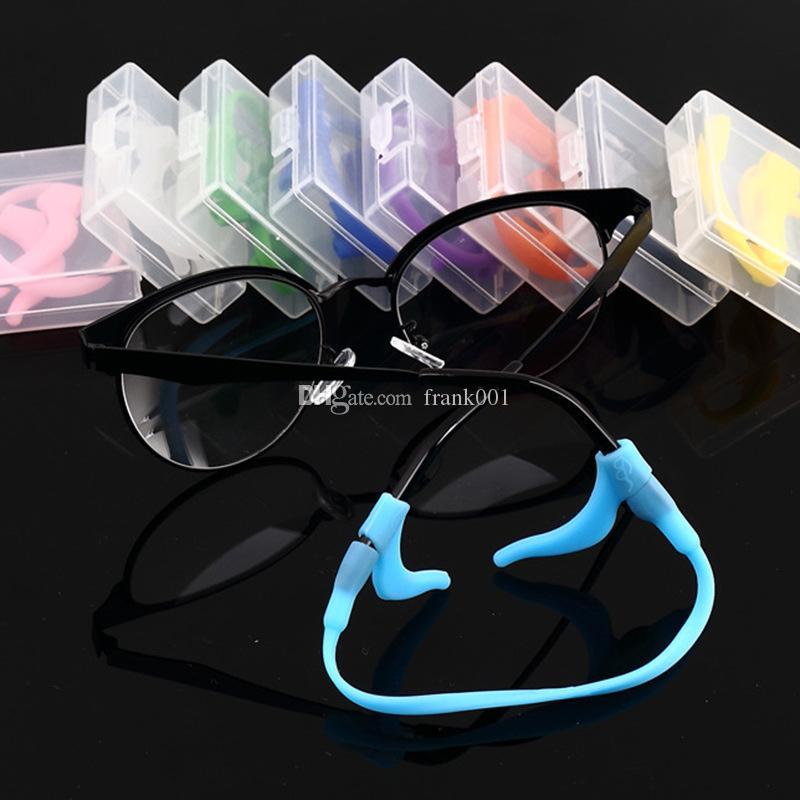 En Elegent Gözlükler Kordon Silikon Kafa Bandı Kayış Kordon Gözlük Emniyet Bandı Kayış Tutucu Spor Tutucu Zinciri