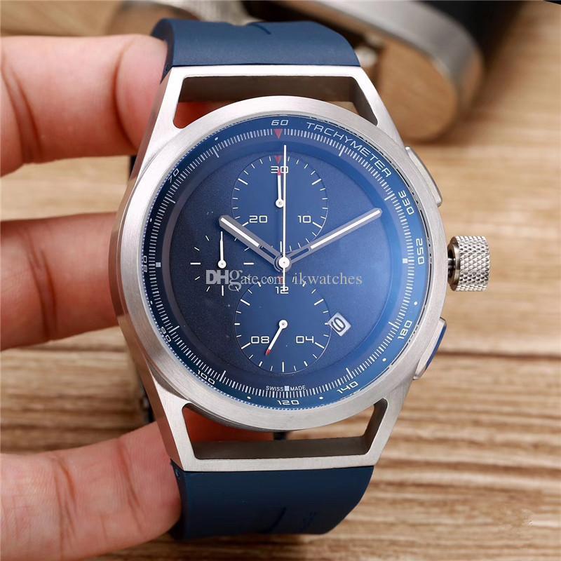 Heiße Uhren Top Uhr Uhr Stoppuhr Verkauf Gummisport Verkauf Chronograph Quarz Mann Armband Handgelenk für PD02 MGPAA