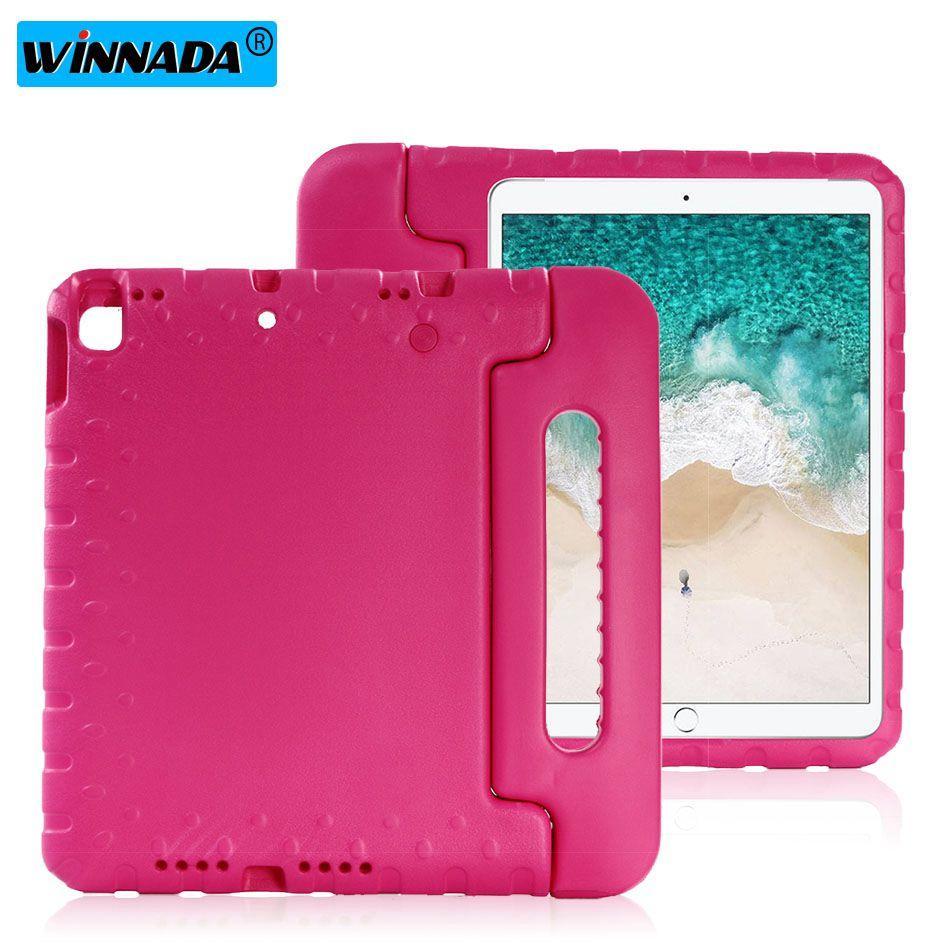 حالة ipad 10.2 2019 Hand-held Shock Proof EVA full body Cover Handle stand case for kids for Apple ipad 7th 10.2 inch case