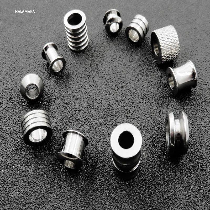 Branelli del distanziatore dell'acciaio inossidabile 50pcs / lot per la collana del braccialetto Gioielli di Diy che trovano Nickel senza piombo libero