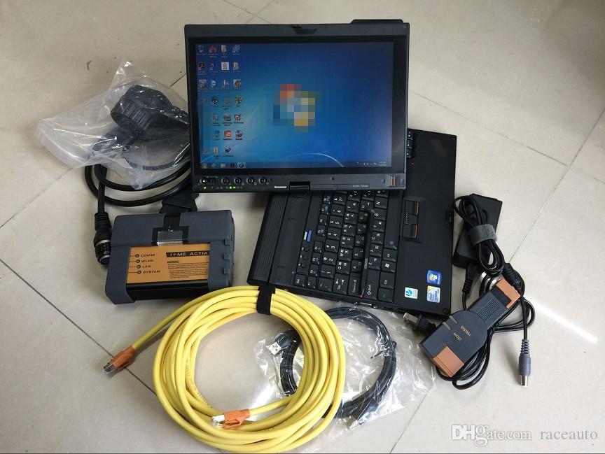 2019 para bmw ferramenta de programação de diagnóstico icom a2 b c com isis isid modo expert em laptop x200t pronto para uso