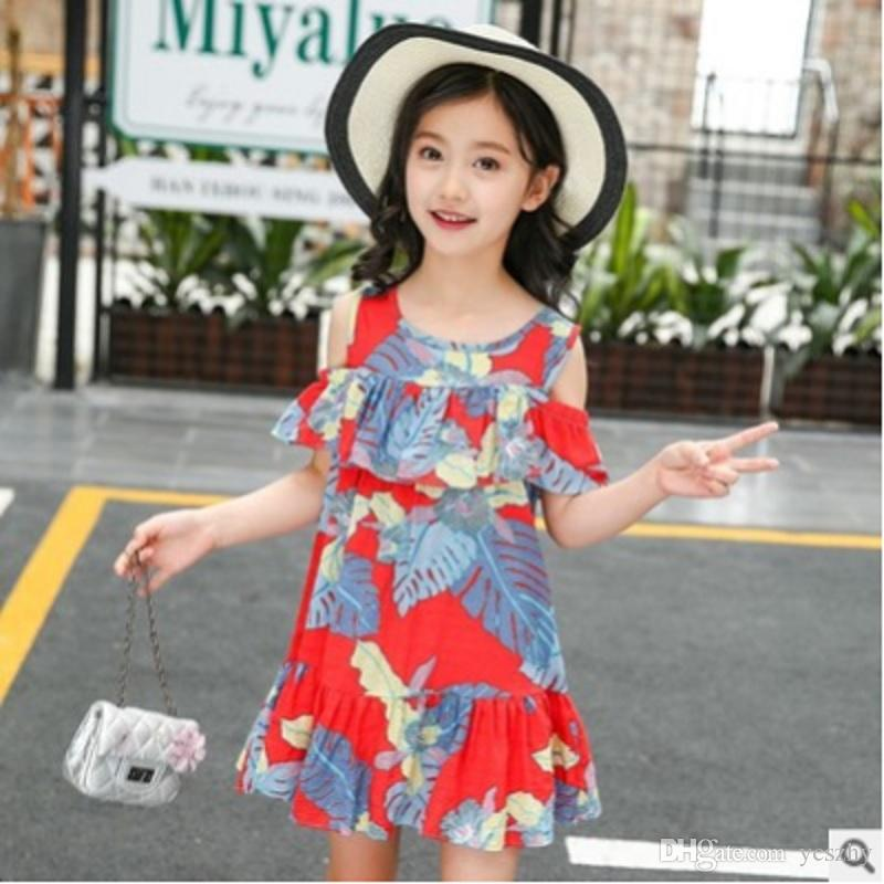 3 New Cute Girls Summer Dress Size