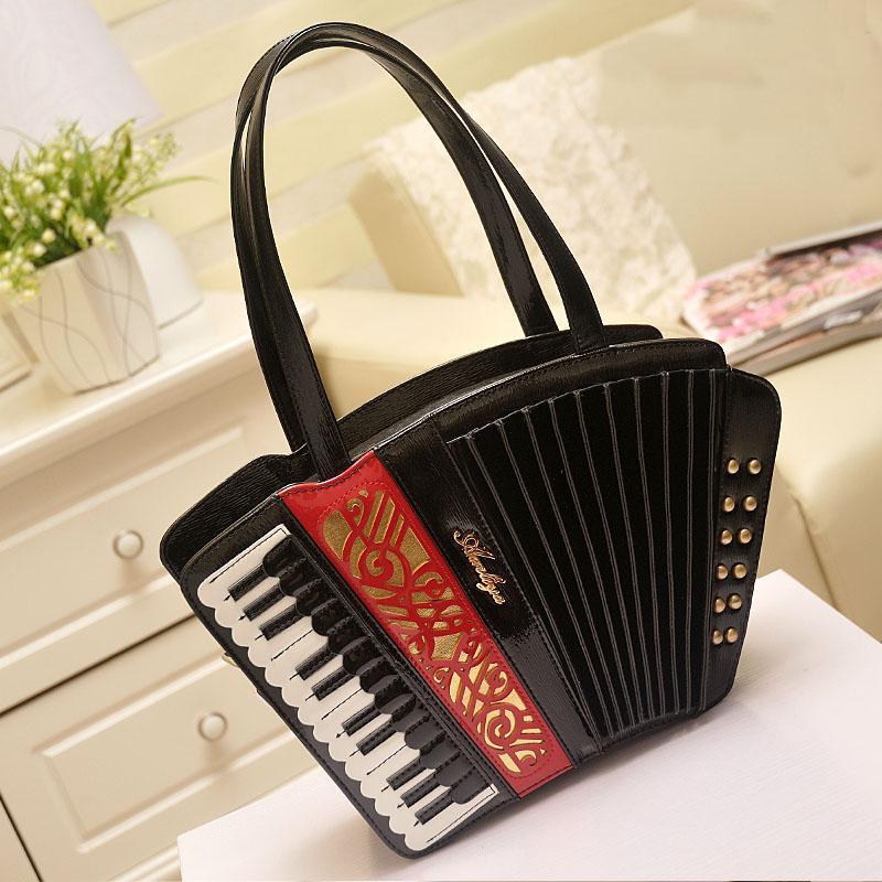 Pelle borse alla moda di fisarmonica spalla di Ameiliyar donne del sacchetto di modo Cross Body Bag su vendite