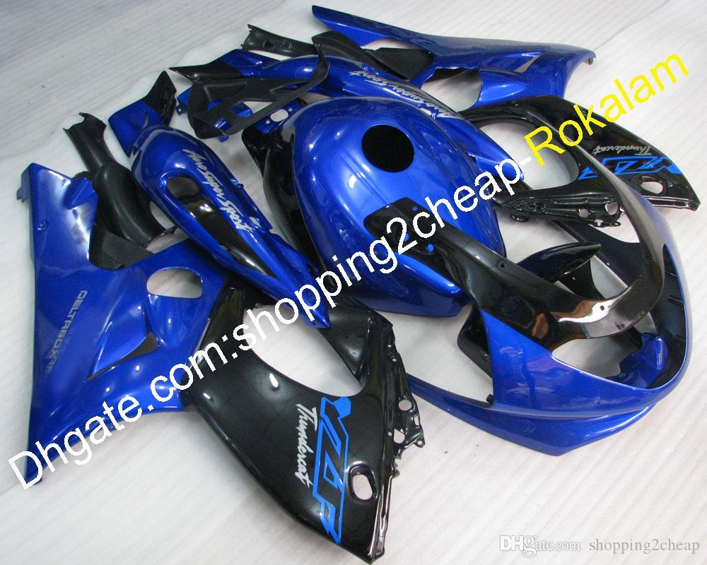 Carénage YZF600R pour Yamaha YZF 600R Thundercat 97 98 99 00 01 02 03 04 05 06 07 YZF-600R Bleu Bleu Crowling