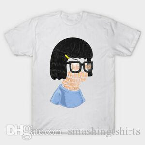 Bobs Burger Tina Belcher Un Boob à un moment comme tout le monde drôle T-shirt blanc