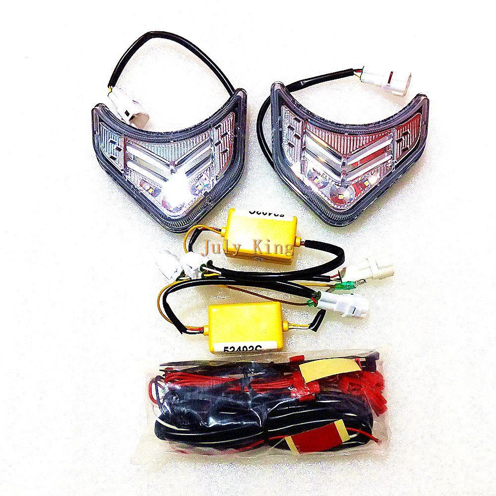 Kia Sorento 2009-2012, LED Ön Tampon DRL için ışıklar davayı Koşu Temmuz Kral LED Işık Kılavuzu Gündüz, 1, Sis Lambası Brandalarına yükleyin: 1