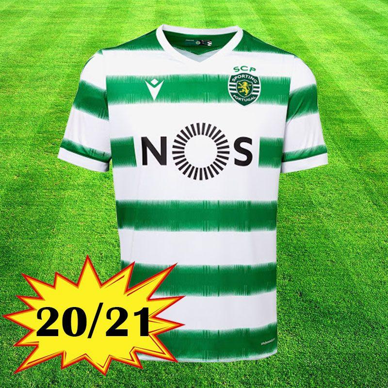 Nuevo 2020 2021 Sporting Clube de camisetas de fútbol Sporting Lisboa Lisboa 20 21 camisa de fútbol Vietto COATES ACUNA kits camisa camisa de futebol