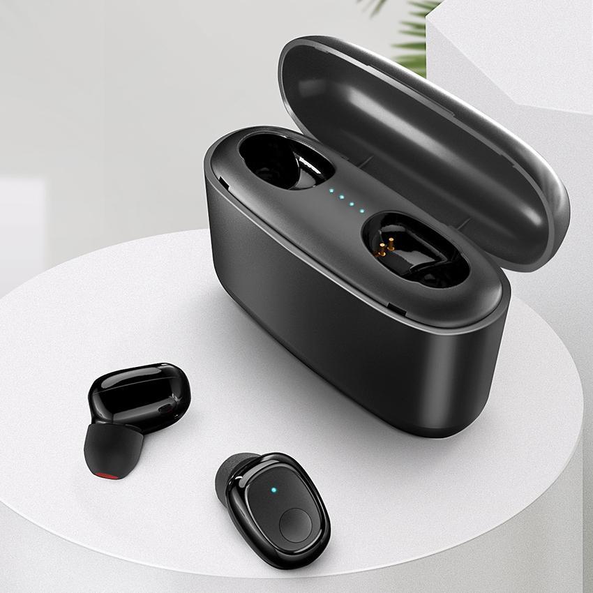 سماعات بلوتوث اللاسلكية سماعة 5.0 مع بنك الطاقة سماعات للسماعات ستيريو الهاتف المحمول البسيطة سماعات الأذن للحصول على XIAOMI
