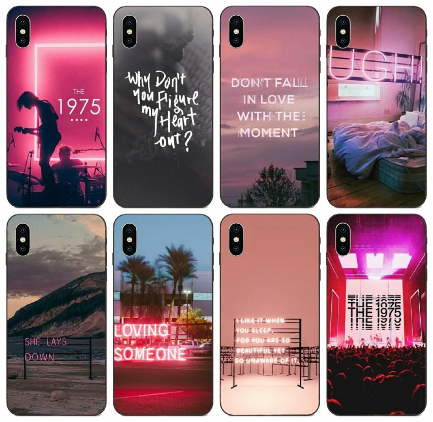 [TongTrade] Die 1975 Songs Top Beliebt Fall für iPhone 8 7 6s 5s Detaillierte Plus-11 Pro X XS Max Samsung A8 A9 Stern Huawei P30 Tropfen Proof Fall