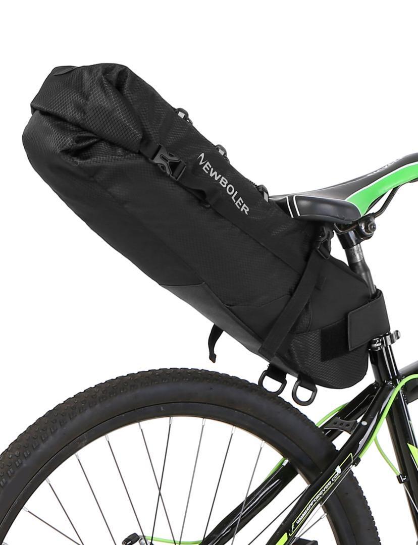 Lixada Bike Saddle Bag 3-10L Large-capacity Tail bag Storage Under Seat Bag