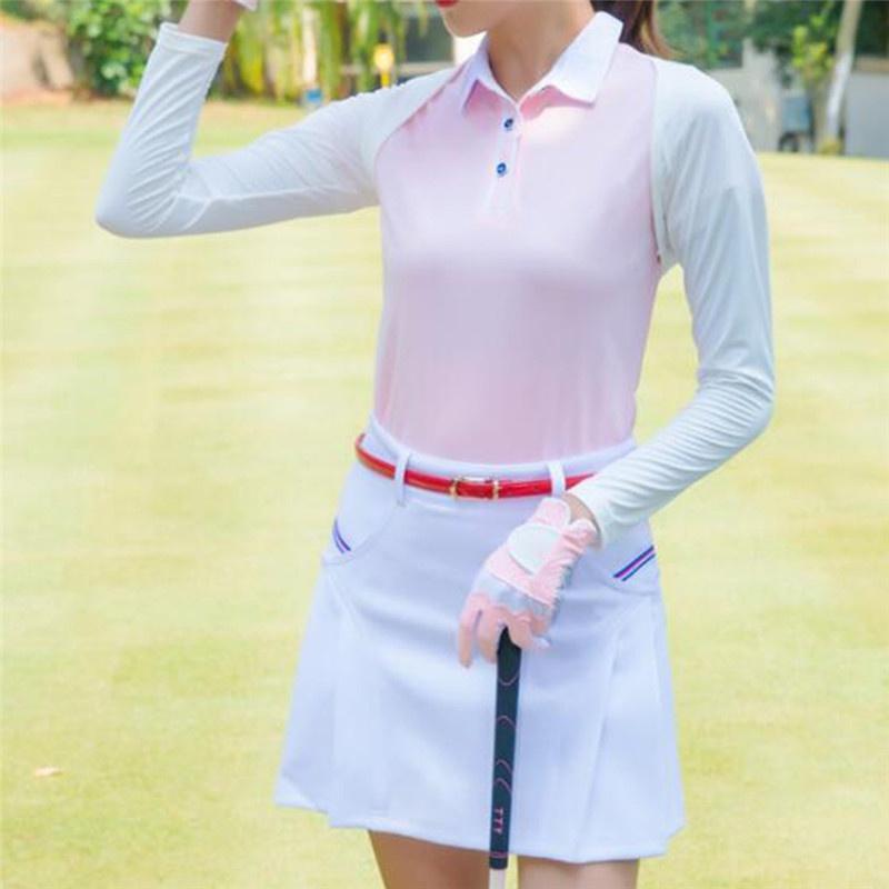 Les femmes Châle Boutons de manchette Gants de golf Châle Ice soie crème solaire Manches Protection UV Été Vêtements de plein air Manchettes S