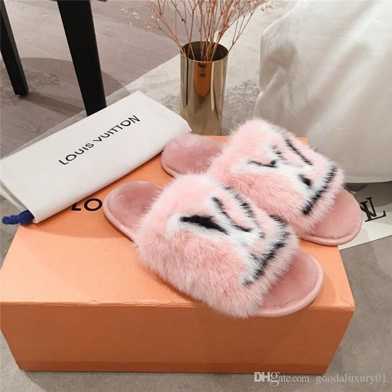 2020 The Latest Mink Slippers Are Made