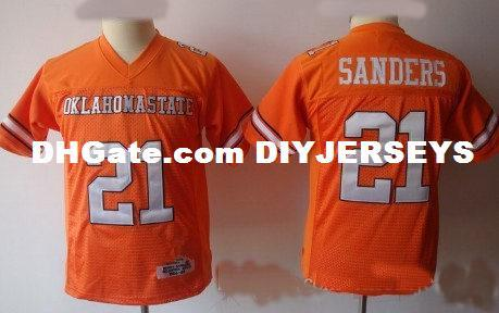 online store 7b6eb a297b 2019 Youth NCAA College #21 Barry Sanders Oklahoma State Cowboys Jerseys  Stitched Kids #20 Barry Sanders Detroit Jersey S 3XL From Diyjerseys,  &Price; ...