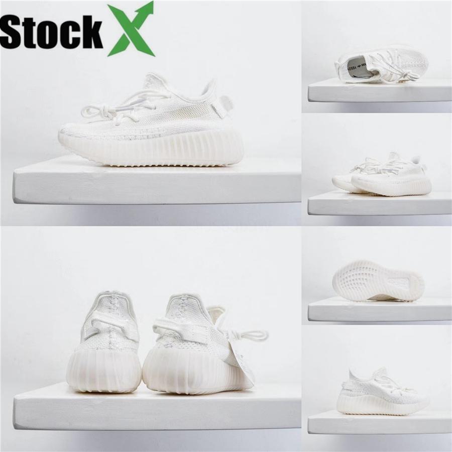 2020 Diseñador V2 niños de los niños del niño de los zapatos de bebé Ejecutar las zapatillas de deporte al aire libre Kanye West Yz 500 zapatillas para bebé muchachas de los zapatos # 809
