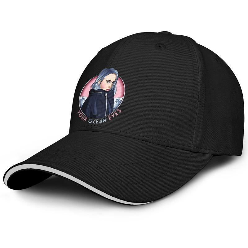 Билли Eilish ваш Олин глаз Бейсбол регулируемый шляпа сэндвич пользовательские прохладный уникальный кепка Билли eilish искусства Билли-Eilish-художественный логотип
