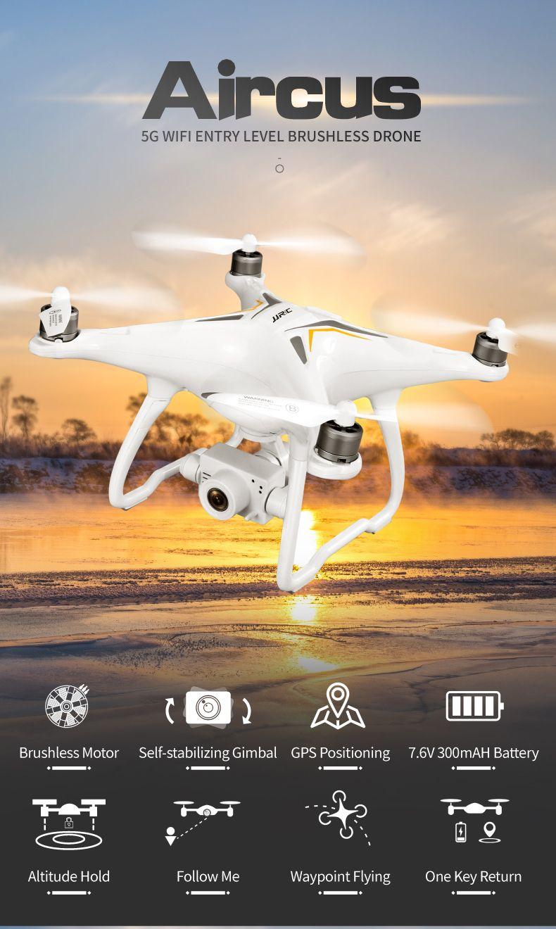 GPS Drone Brushless Professional 5G Follow Me WiFi FPV 1080P HD camera VS DJI phantom 3 phantom 4 pro RC DRONE RC Quadcopter T200516