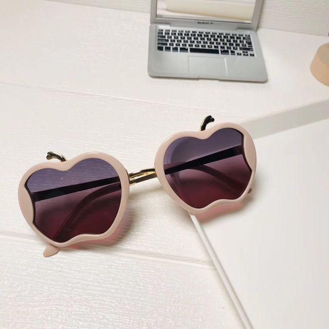 home2010 Vintage Apple Crianças Óculos de sol do metal Crianças Sunglass retros Rapazes Raparigas Marca Designer Gradiente óculos de sol UV400 Óculos