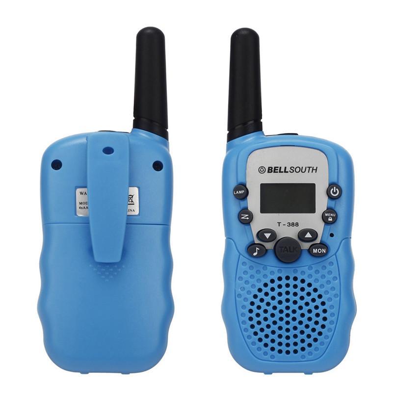 2pcs Portable Wireless Walkie-talkie Set Eight Channel 2 Way Radio Intercom 5KM D50