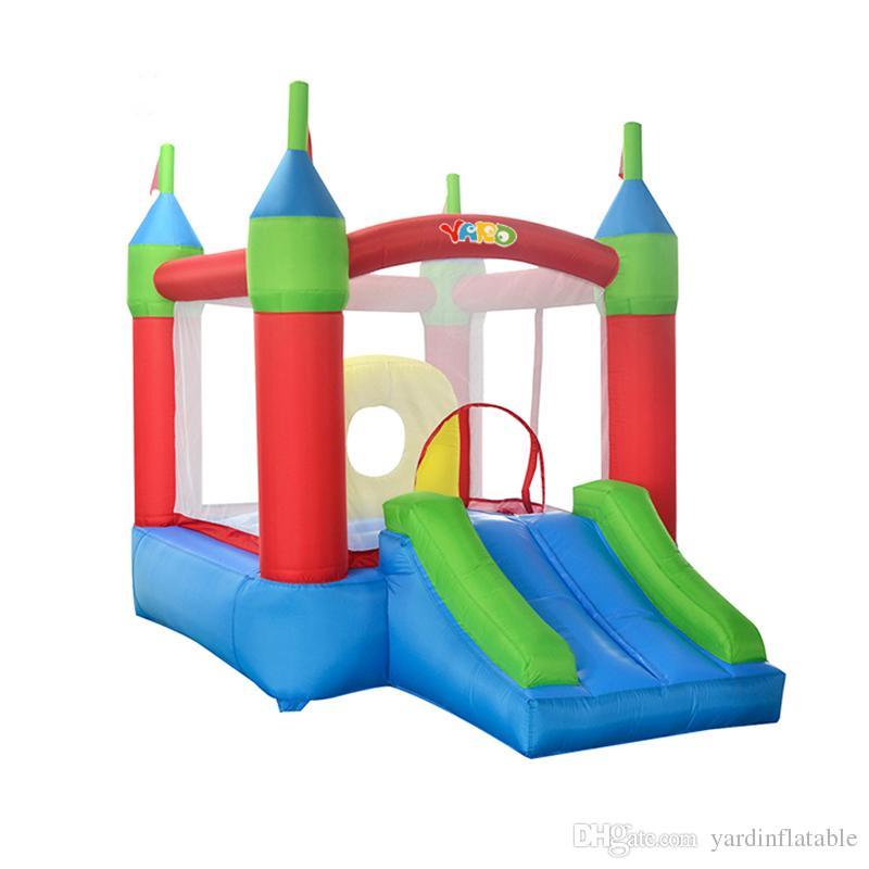 YARD Mini Kapalı Ve Açık Toptan Fiyat Blow Up Oxford Kumaş Şişme Bouncy Castle Jumper Ev İçin Çocuk