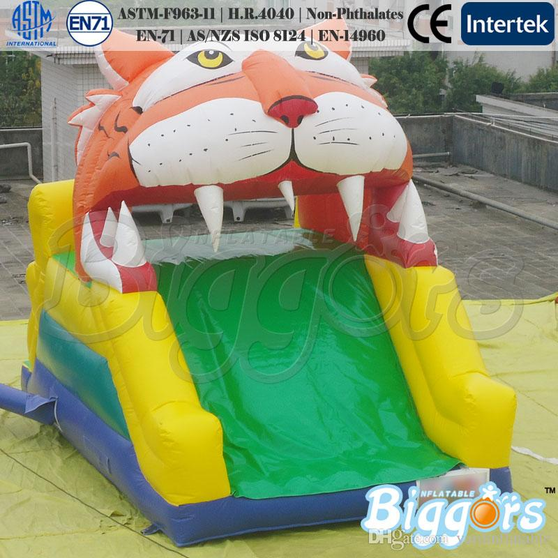 Durable PVC Material Cute Inflatable Slide Bouncy Slide Lovely Style Water Slide
