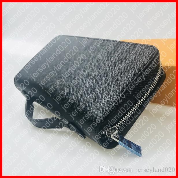 Zippy xl المحفظة M61698 مصمم أزياء الرجال الذكي حامل بطاقة جواز سفر طويل المحفظة الحقيبة المنظم حالة السفر مخلب pochette