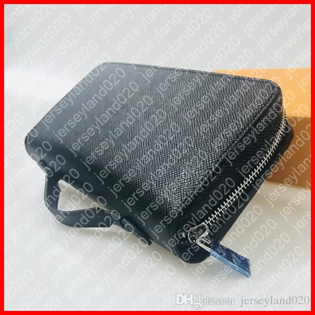 Zippy XL محفظة M61698 مصمم أزياء رجالية الهاتف الذكي بطاقة جواز سفر حامل طويل محفظة الحقيبة المنظم السفر حالة مخلب pochette