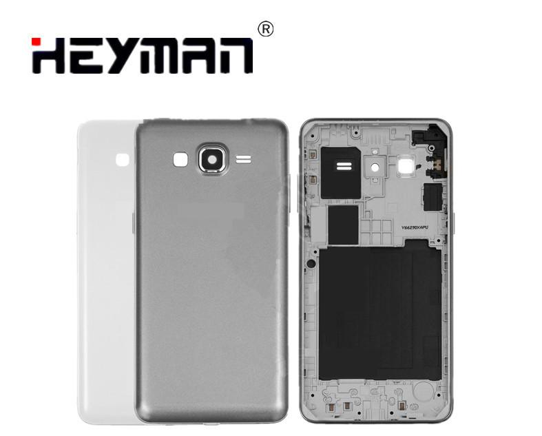 Carcasa para Samsung G530F Galaxy Grand Prime LTE (solo SIM) carcasa trasera bisel titular marco cubierta trasera reemplazo de la puerta