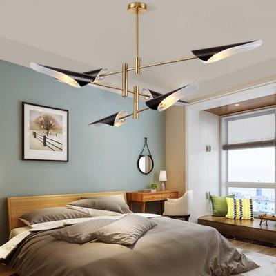 Post Modern Metal Branch Chandelier Nordic Hanging Lamp Light Lighting Fixture Creative Personality LED Pendant luminaire