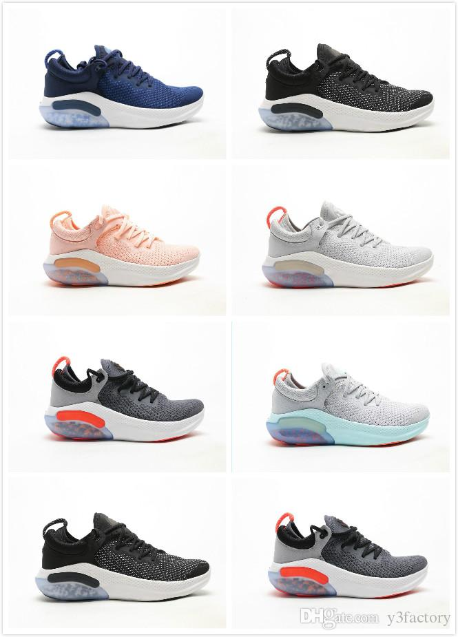 2020 Joyride Run Мужчины Женщины кроссовки дизайнер черный розовый серый Volt мужские Кроссовки мужские спортивные Спортивные кроссовки женщин вскользь Chaussures
