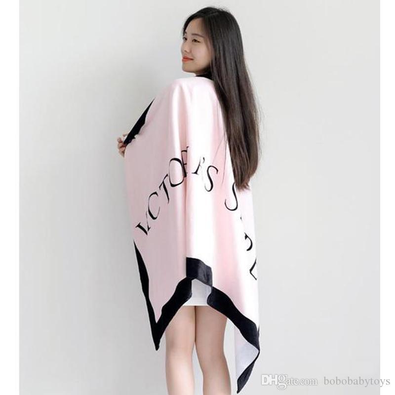 Promoción de secado rápido toalla de la toalla de playa de la fibra micro Fleece Blanket Yoga Victoria secado toallita de baño Ducha B268