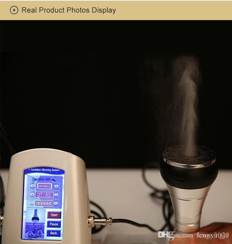 40K 초음파 Cavitation 치료 RF 시스템 본체 뷰티 살롱 스파 가정용 피부 회춘 기계를 슬리밍