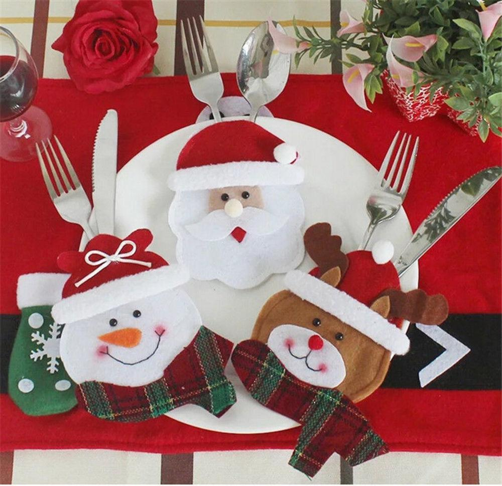 Docor Who Christmas 2020 2020 Tableware Sets Christmas Happy Santa Claus Tableware