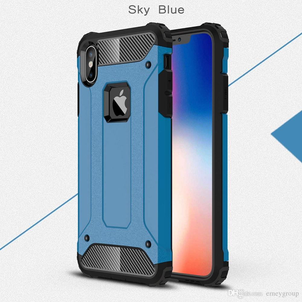 For iPhone 11 pro max X Xs Max Xr 6s 7 8 Plus Shockproof Armor Silicon Case For samsung J7 A6 J4 J6 J3 J8 NOTE9 8 S10 s8 s9 note10