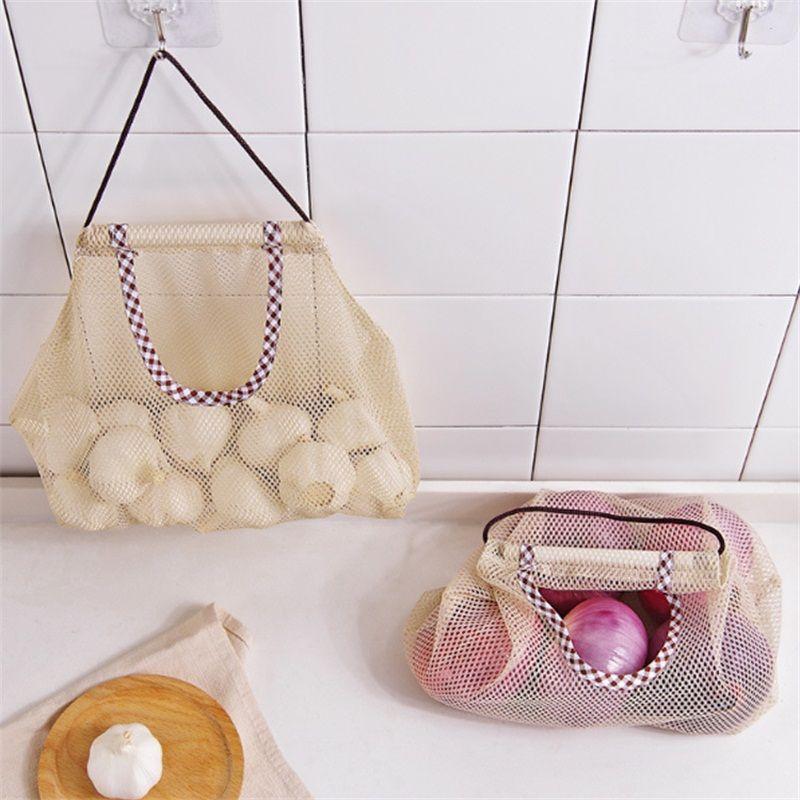 Hanging Multi Purpose Polyester Mesh Bag-UK STOCK-FREE P/&P