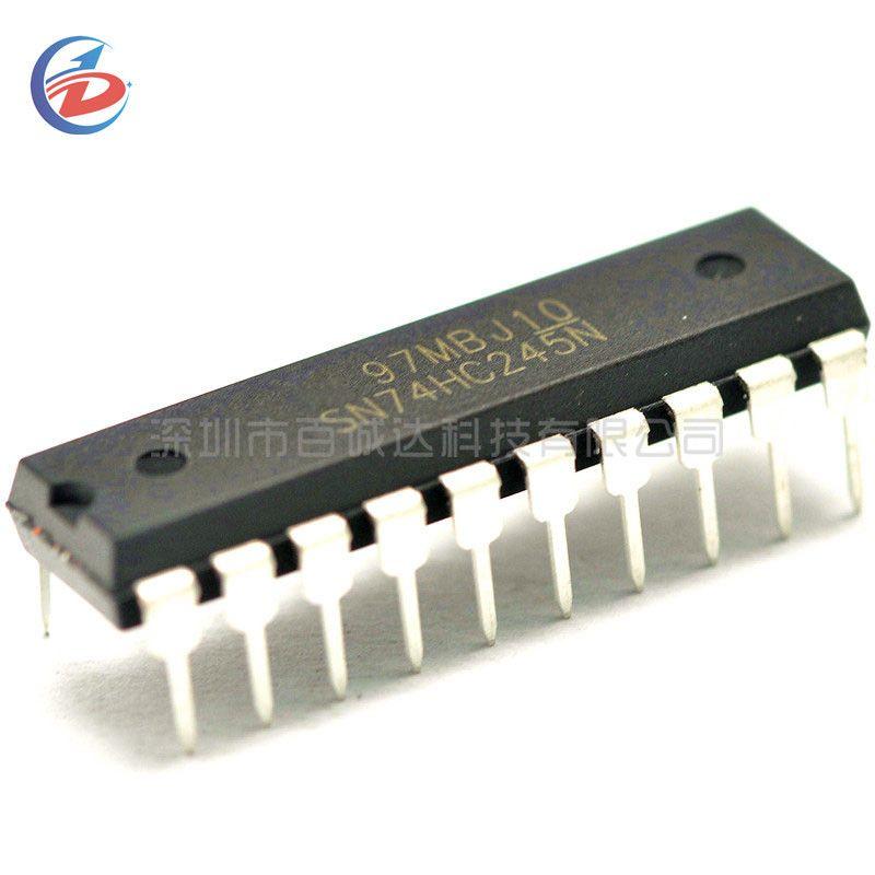 10PCS SN74HC245N DIP20 SN74HC245 DIP 74HC245N DIP-20 74HC245 new and original IC